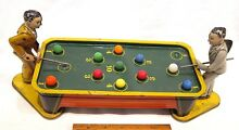 tin windup mechanical top pool