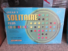 spears game 1970 s solitaire plus colourtaire