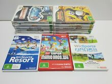 nintendo wii good condition games choose many