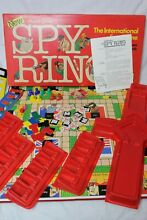 waddingtons spy ring spy ring 1978 detective board game