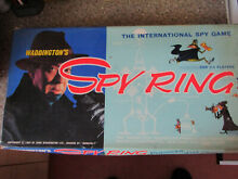 waddingtons spy ring 1965 board game 100 complete