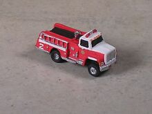 n gauge n scale 2004 red white ford fire