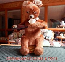 alps 1960 s battery operated picnic bear