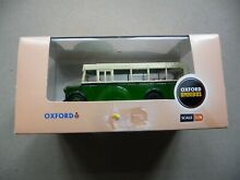 bedford oxford diecast bus in original box