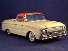 alps tin toy car truck ford falcon