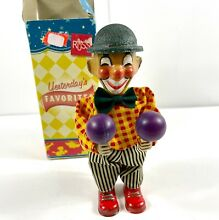 russ berrie co wind up clown yesterday s