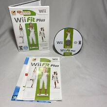 wii fit plus nintendo wii 2009 tested game