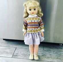horsman 1950 s doll t 21 tall curled blonde
