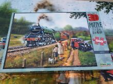 flying scotsman the super 3d 500 piece jigsaw kevin