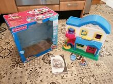 little people fisher price house playset
