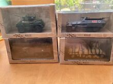 atlas editions military models x 4 all