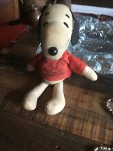 1960 soft snoopy toy s gangs all here t