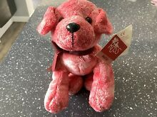 russ berrie collectable red fleck dog muttly 10