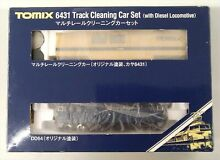 tomix used 6431 multi rail cleaning car