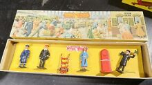 crescent toys lead figuires boxed railway