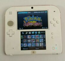 nintendo ds nintendo 2ds 3ds white red 90 3ds