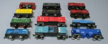 marx toys marx o gauge freight cars tenders