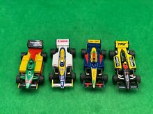 tomy 4 racemasters afx super g indy cars