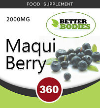 vindex maqui berry 2000mg extract tablets