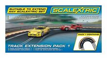 scalextric track extension pack 1 racing curve