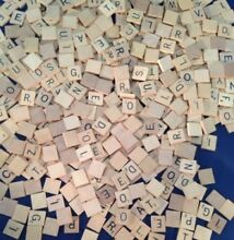 scrabble old style usa letter tile wooden