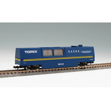 tomix 6425 track cleaning car blue n