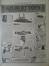 ac gilbert 1917 co erector chemistry set