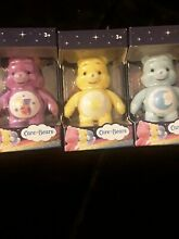 care bears collectible figures x3 new in box