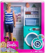 ken barbie doll laundry set