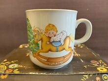 rocking horse russ berrie mug cup baby s first