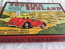 touring game touring england board game contents