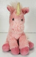 russ berrie pink unicorn plush toy luky by 15
