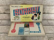 sorry game rare 1963 sorry board game by john