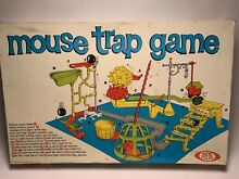 mouse trap game mouse trap ideal 1963 boxed