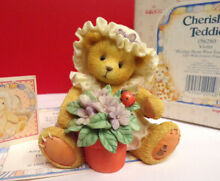 cherished teddies blessings bloom when you are near