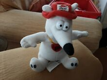 pizza hut soft toy pebble pooch red box