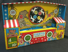 ohio art carnival shooting gallery tin toy