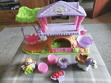 little people fisher price fairy tree house