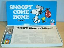 arrow games snoopy come home game by mb old