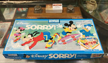 go for it parker parker brothers disney sorry board