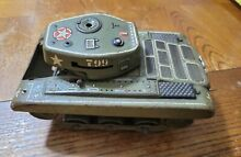 gama tin toy army tank for parts or