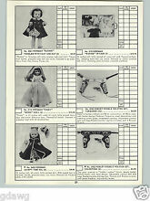 horsman 1959 paper ad ruthie doll cindy