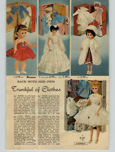 horsman 1962 paper ad doll ideal american