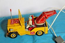 tin jeep willys japan tow truck