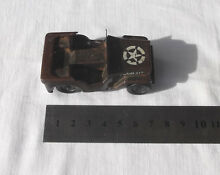 minic motorways old triang minic wind up army jeep