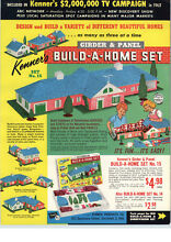 kenner girder panel 1962 paper ad kenner s build a home