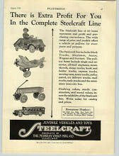steelcraft 1929 paper ad murray toys pedal car