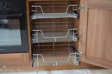 sy pull out wire baskets kitchen