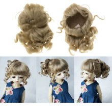 luts 1 6 bjd doll long curly ponytail