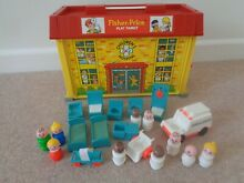 little people fisher price hospital figures